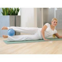 SISSEL Pilates Soft-Ball metallic anthrazit