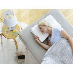 Gesunder Schlaf mit dem orthopädischen Nackenkissen von SISSEL