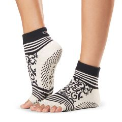 ToeSox Ankle Half Toe Beloved Small