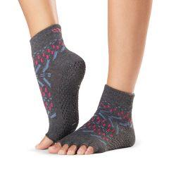 ToeSox Ankle Half Toe Festival Medium
