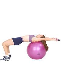 SISSEL® Gymnastikball: Heben des SISSEL Heavy Bar